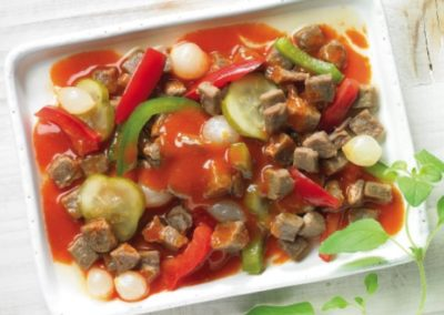 Saxon-style beef salad