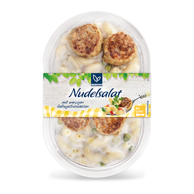 Snacksalate Nudelsalat