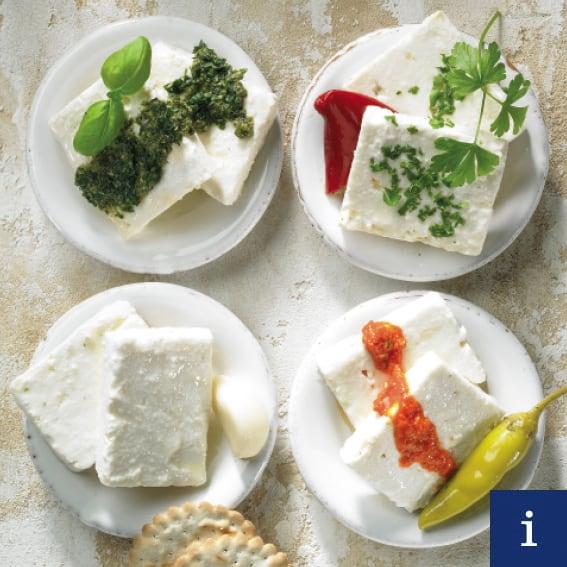 Quattro Formaggi array of cheese