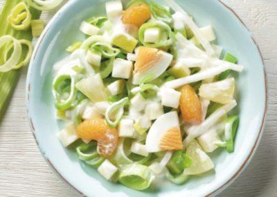 Lauch-Frucht-Salat Toscana