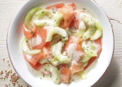Melonen-Gurken-Salat Napoli