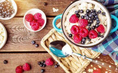 Wer sich gesund ernähren möchte, hat es jetzt noch leichter: Porridge für eine Person