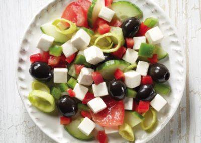 Peloponnesian farmer's salad