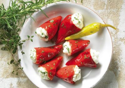 Spicy little florina peppers