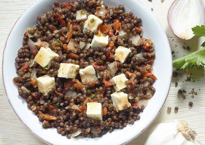 "Belugalinsen-Salat ""Lucca"""
