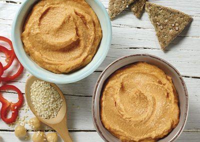 Hummus Pikant