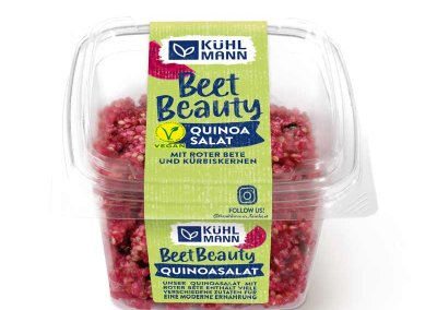 Quinoa salad<br></noscript>with red beets and<br>pumpkin seeds, 230 g