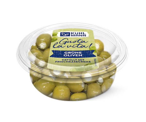 Antipasti Grüne Oliven