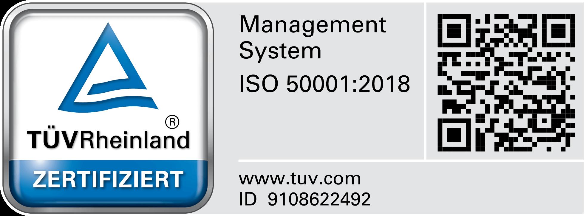 TÜV Zertifikatszeichen