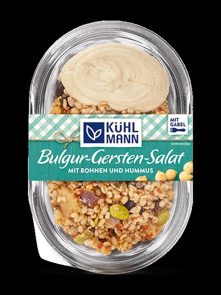 Snacksalate Bulgur Gerste salad